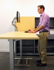 Inscape Sit Stand Desk